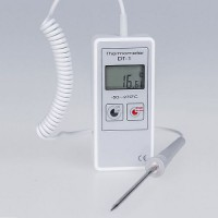 Teploměr s čidlem min max pro přesné měření teploty DT-1