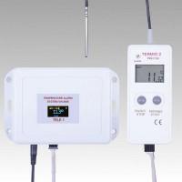 SMS GPS GSM záznamník teploty s externím čidlem Termio-2